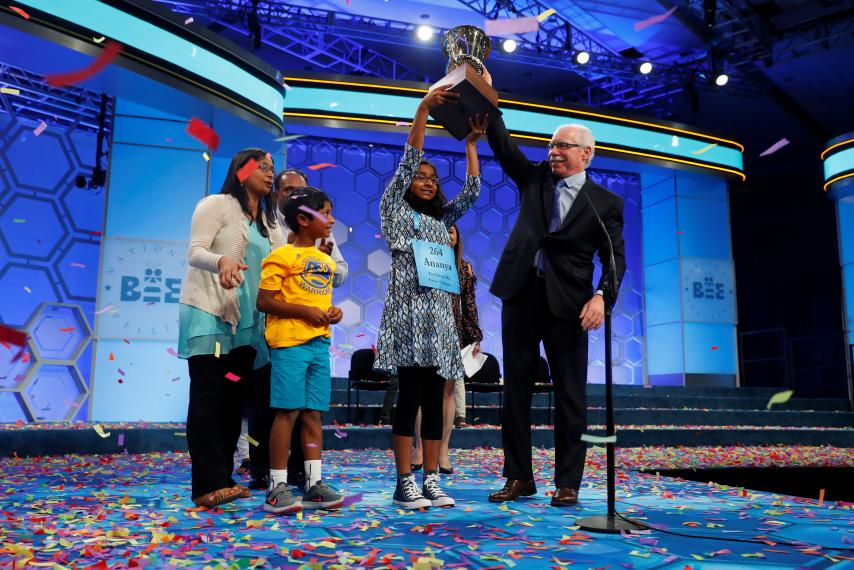Spotlife Asia'Marocain' wins the National Spelling Bee for ...